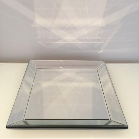 Mirror Square Display Tray