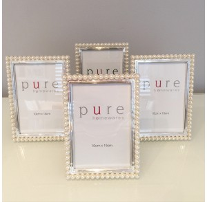 Pearl Silver Frame