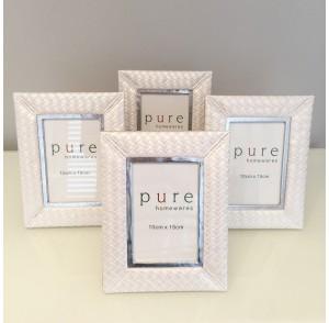 Weave Silver Frame