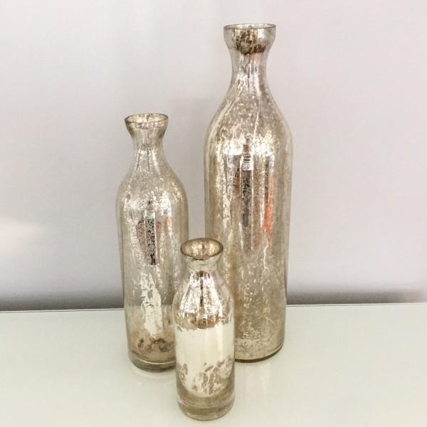 Champagne Mercury Vase