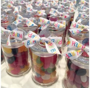 Lolly jars bonbonniere