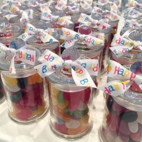 Lolly jars bonbonniere
